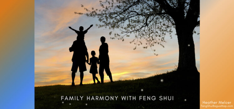 Feng Shui Bagua Map - Family Area Harmony