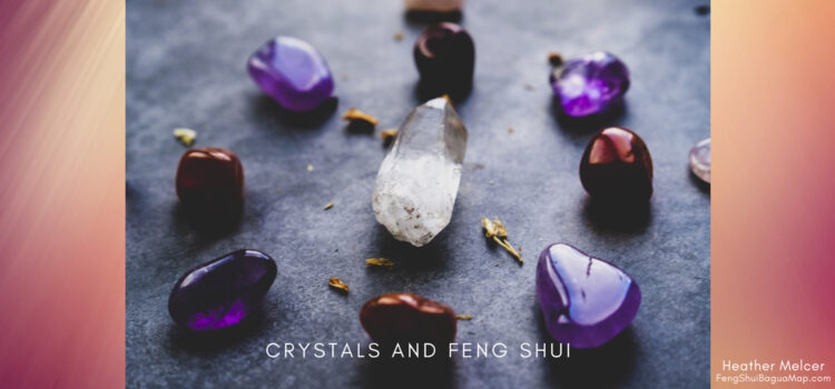 Crystals and the Feng Shui Bagua Map