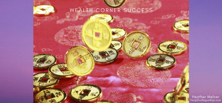 Feng Shui Wealth Corner - Chinese Coins